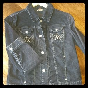 7 for all mankind cord jacket